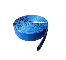 Vamzdis LAY FLAT PVC 65mm, SKY