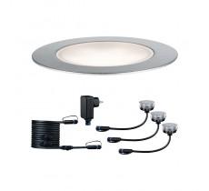 Plug & Shine įleidžiamas šviestuvas Floor Eco 3x1W