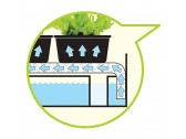 """Micro Grow Light Garden"" daigykla 11W Juoda"