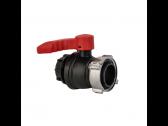IBC rutulinis ventilis 75mm vid.sr. x 60mm iš.sr. su akle