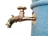 Vandens kolonėlė su kriaukle Roma