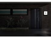 Šviestuvas-namo numeris su judesio davikliu 40x40 cm