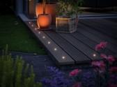 Plug & Shine MicroPen II įleidžiamas šviestuvas 5x0.22W