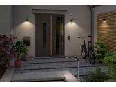 Sieninis Soley šviestuvas su judesio davikliu ir saulės baterija