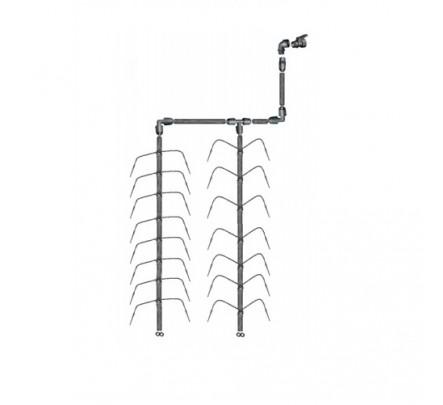 Šiltnamio laistymo sistema Dvikojis vandentiekiui