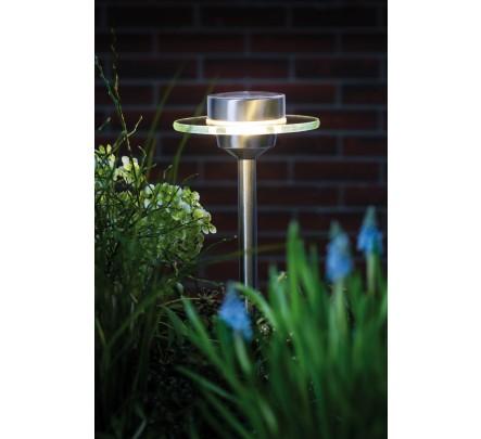 Įsmeigiamas lauko šviestuvas su saulės baterija