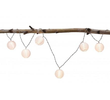 7 lempučių girlianda