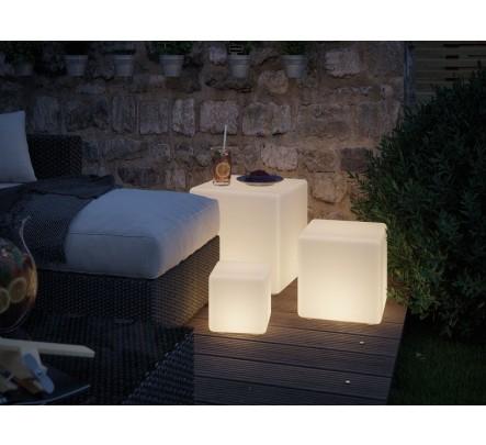 Šviesos objektas – kubas, 30 cm