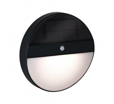 Sieninis šviestuvas Elois su judesio davikliu ir saulės baterija