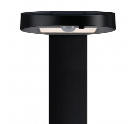 Lauko šviestuvas su judesio davikliu ir saulės baterija