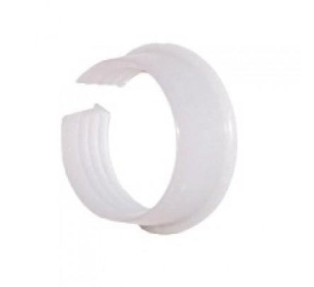 Baltas žiedas 25