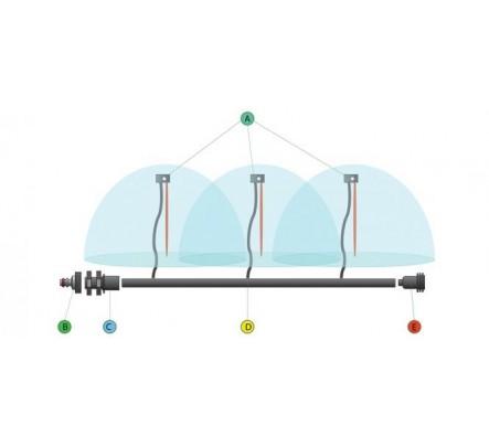 Šiltnamio laistymo sistema Daržas vandentiekiui