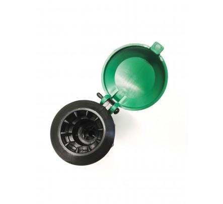 Hidrantas su šarnyriniu pajungimu laistymo žarnai