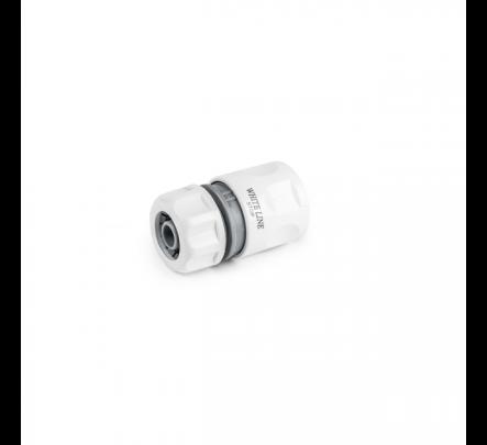 """Greitas sujungimas White Line GSV x 1/2""""(13 mm) laistymo žarna su STOP funkcija"""