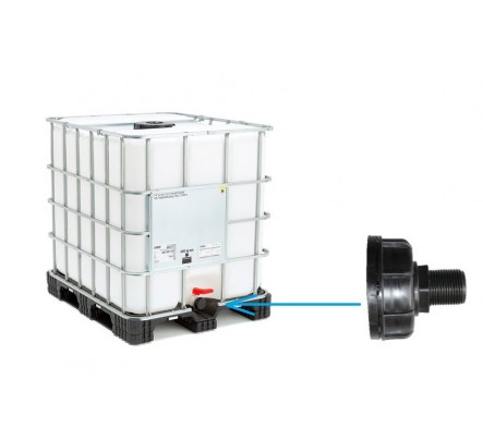 Pajungimas prie IBC konteinerio