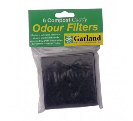 Kvapų filtras komposto dėžėms