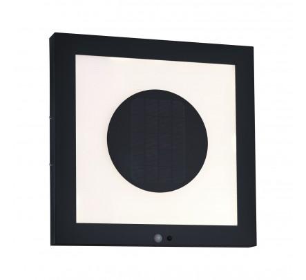 Šviestuvas Taija su judesio davikliu ir saulės baterija 40x40 cm