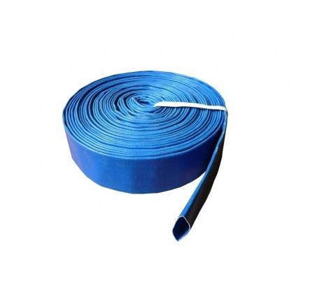 Vamzdis LAY FLAT PVC 77mm, SKY