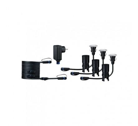 Plug & Shine  įleidžiamas šviestuvų mini komplektas