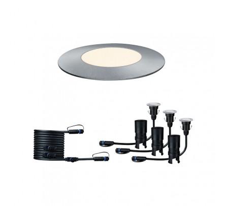 Plug & Shine įleidžiamas šviestuvas Mini 3 x 2.5W