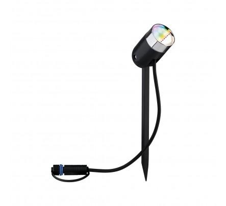 Plug & Shine Zigbee RGBW spot Pike 4W 24V 40° anthracite