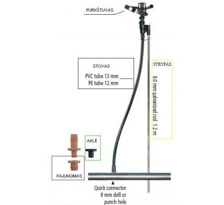 Purkštuvas 5022-U 3mm x1,8mm