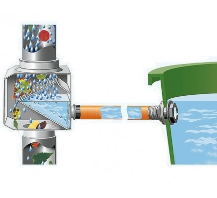 Plastikinė talpa vandeniui  310 l
