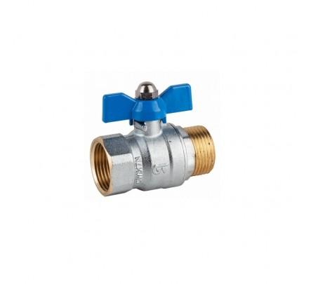 """Rutulinis žalvarinis ventilis 1"""" išorinis/vidinis sr."""