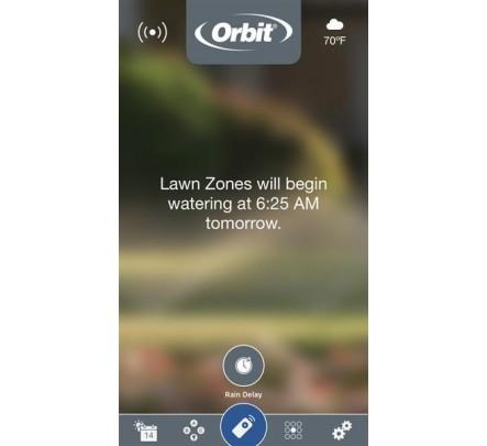 Valdiklis Orbit 8 WiFi vidinis