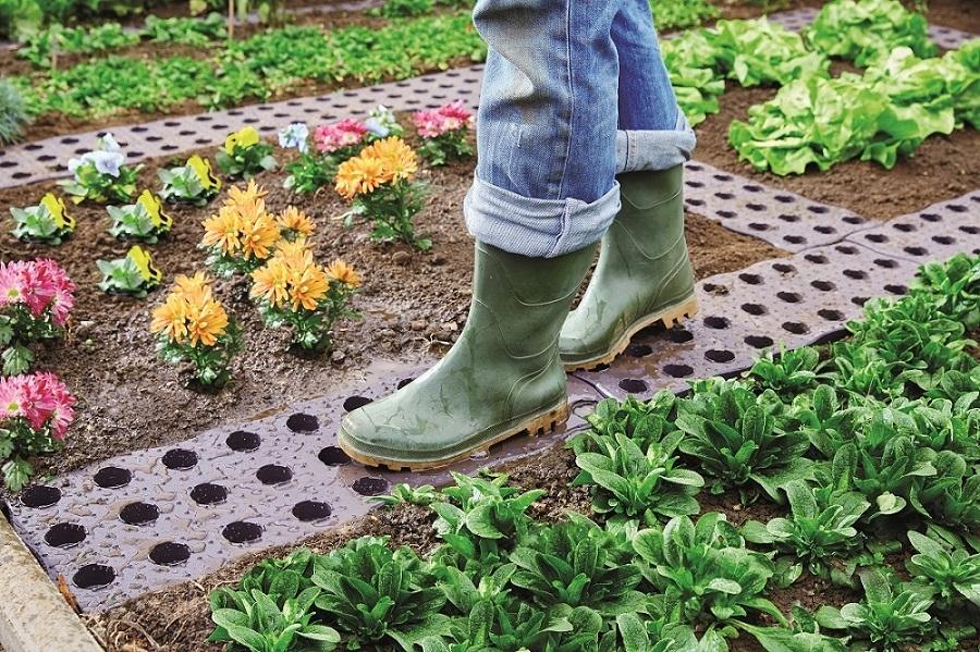 MaXi plastikinė sodo plytelė