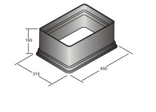 Kolektorinės dėžės Standart paaukštinimas