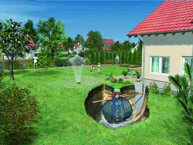 vandens surinkimo sistema